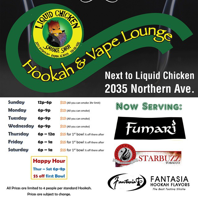 Kingman-Merchants-Mall-Liquid-Chicken-Hookah-Vape-Lounge