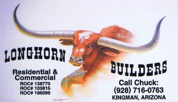 Longhorn Builders-front-Business card