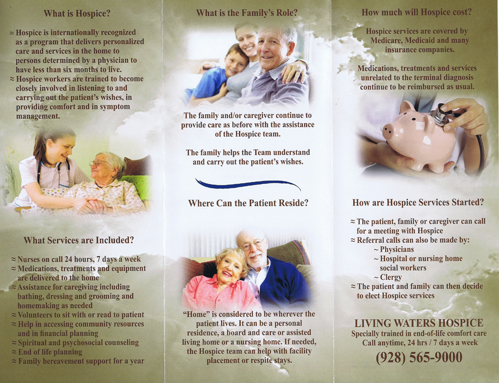 Kingman-Merchants-Mall-Business-Directory-In-Home-Care-Living-Waters-Flyer