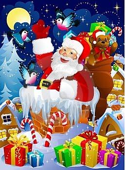 Santa's Annual Visit