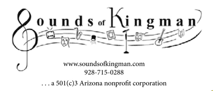 Sounds of Kingman 2017 Schedule of Events