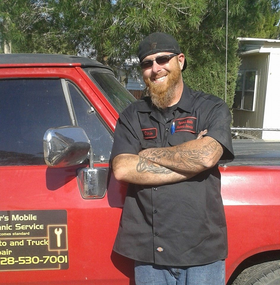 Topher's Mobile Mechanic Service Delivers