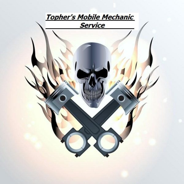 Topher's Mobile Mechanic Service- Logo Supreme